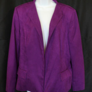 Women's NWT Size 18 Investments Fully Lined Jacket